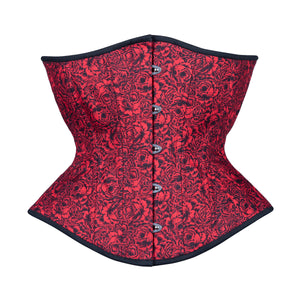 Red with Desire Corset, Hourglass Silhouette, Regular