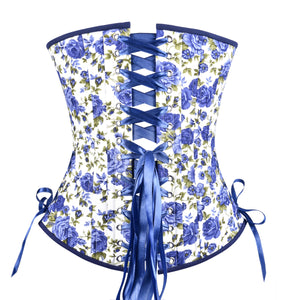 Close to You Blue Corset, Slim Silhouette, Long