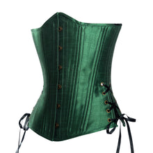 Load image into Gallery viewer, New Leaf Green Corset, Slim Silhouette, Long