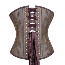 Load image into Gallery viewer, Rustic Cowboy Corset, Slim Silhouette, Regular