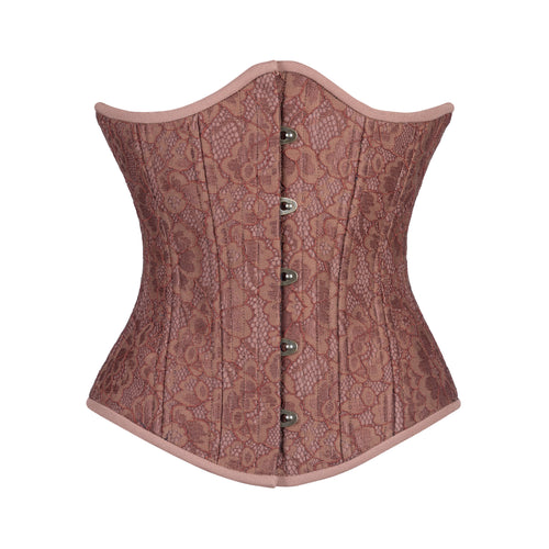 Cinnamon Lace Corset, Slim Silhouette, Regular**-PHOTO SAMPLE, ONLY SIZE 22 IS AVAILABLE