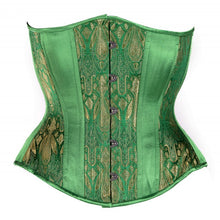 Load image into Gallery viewer, Emerald Hourglass Corset