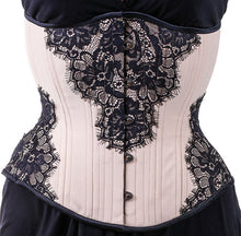 Load image into Gallery viewer, Vanilla Lace Hourglass Corset