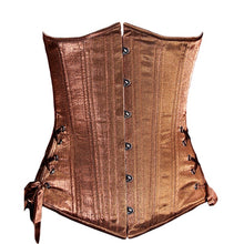 Load image into Gallery viewer, Steampunk Bronze Shimmer Corset