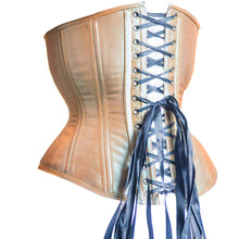 Load image into Gallery viewer, Champagne Iridescent Corset, Hourglass Silhouette, Regular