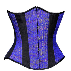 Royal Blue Chinese Corset