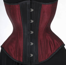 Load image into Gallery viewer, Burgundy Corset