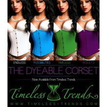 Load image into Gallery viewer, Dyeable Corset