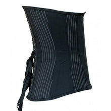 Load image into Gallery viewer, Pinstripe Cashmere Corset