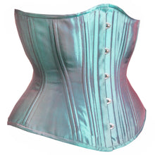 Load image into Gallery viewer, Jade Iridescent Corset, Hourglass Silhouette, Regular