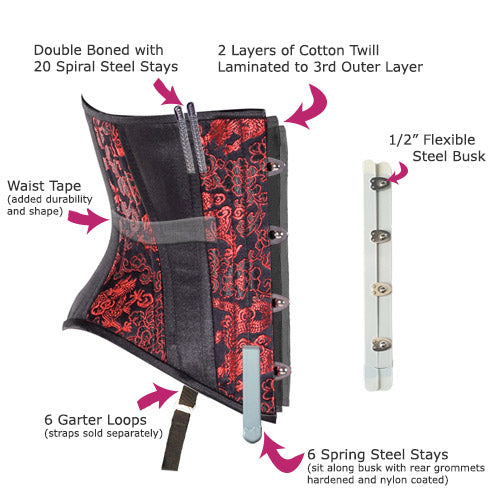 7ce12c6cba Corset pattern designed in 2015 in collaboration with Lucy s Corsetry!