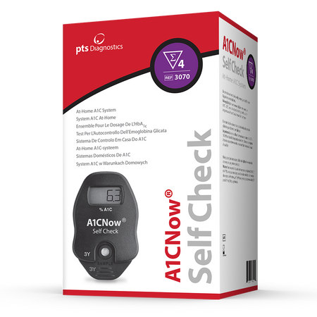 A1CNow® Self Check - 4 Count Test Kit