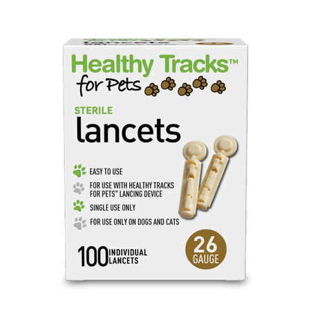 Healthy Tracks for Pets™ Lancets, 26G - 100 ct.