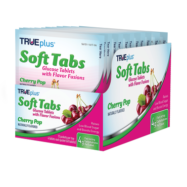 TRUEplus® Soft Tabs Cherry Pop Tray - 48 ct.