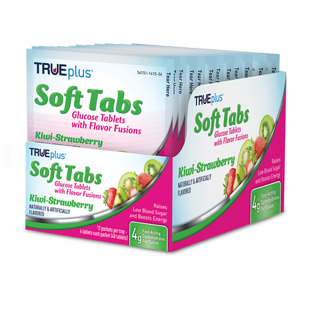 TRUEplus® Kiwi Strawberry Soft Tabs Tray - 48 ct.