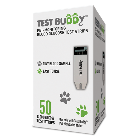 Test Buddy™ Pet-Monitoring Blood Glucose Test Strips, 50 ct.