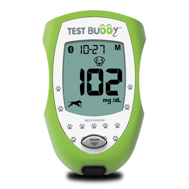 Test Buddy™ Pet-Monitoring Blood Glucose Meter