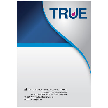 TRUE Self-Test Log Book (Pack of 3)