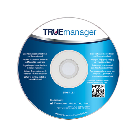 TRUEmanager® Diabetes Management Software CD