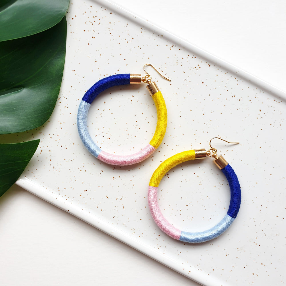 PEPA HOOP EARRINGS - SMALL