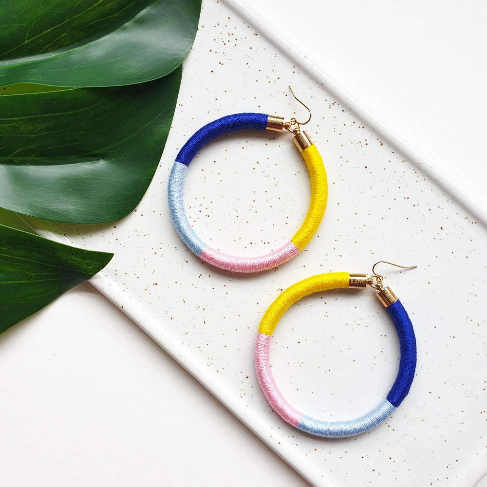 PEPA HOOP EARRINGS