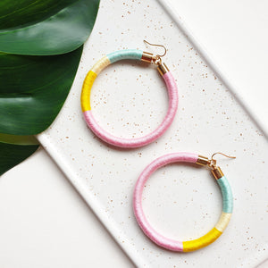 SPINDERELLA HOOP EARRINGS