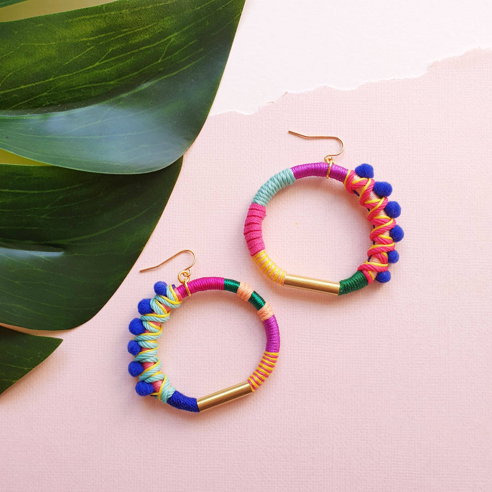 FRIENDSHIP Hoop Earrings