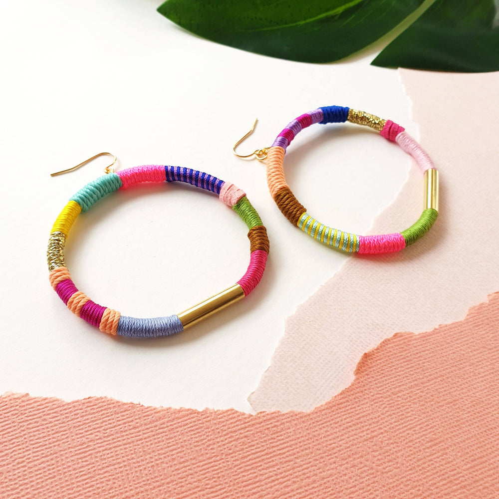 JOY Hoop Earrings