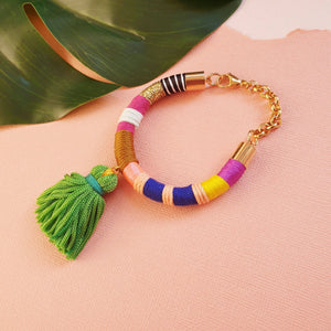 Load image into Gallery viewer, ZEALOUS Tassel Bracelet