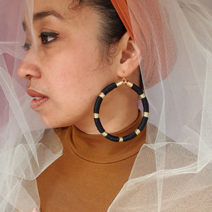 AMIRA MAXI HOOP EARRINGS