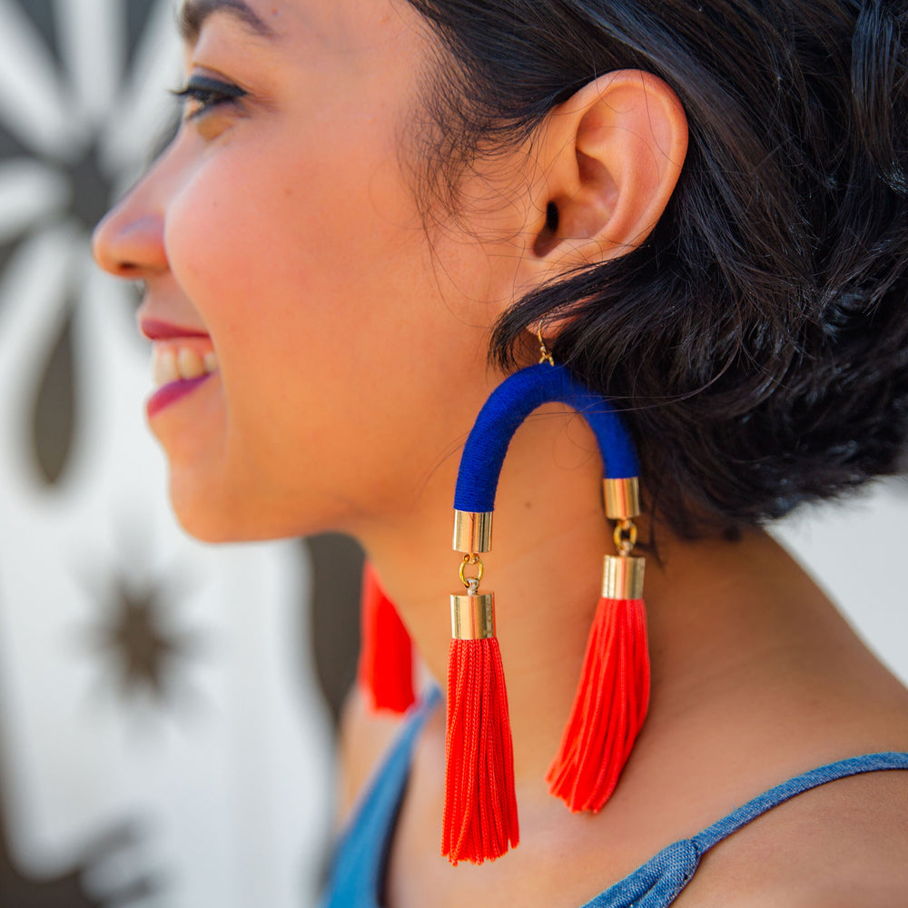 MS. HILL TASSEL EARRINGS