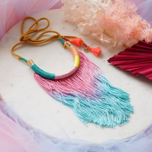 She's Lovely Tassel Necklace