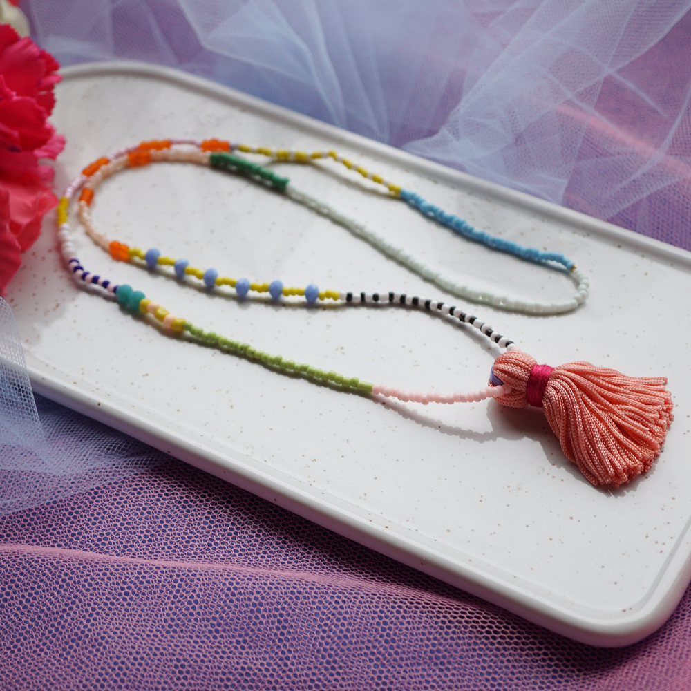 Summer Tassel Necklace two