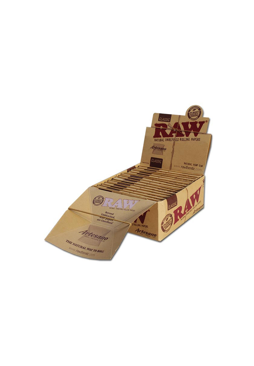 'RAW' 'Artesano' Classic Papers KS Slim mit Tips
