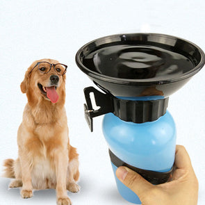 Dog Travel Water Mug