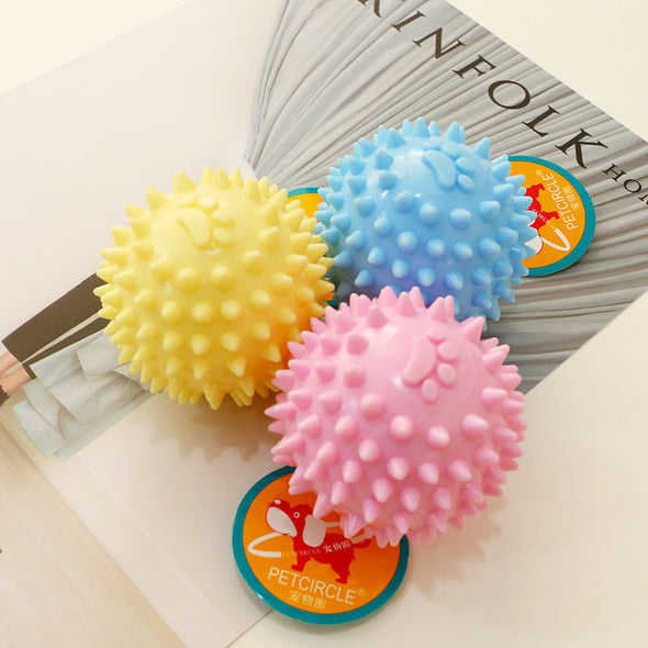 Rubber Bell Squeaky Ball Toys