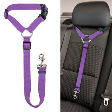 Headrest Pet Car Safety Seat Belt
