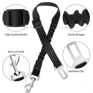 Pet Adjustable Car Safety Seat Belt