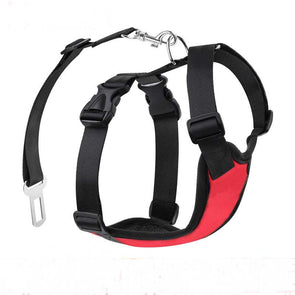 Dog Car Safety Vest Harness
