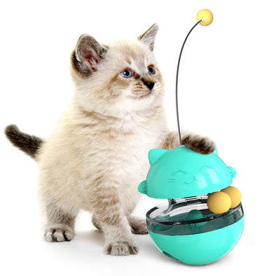 Cat Tumbler Toy with Detachable Stick