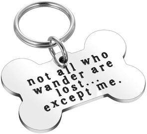 Personalised Pet Bone Tag