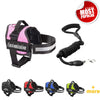 Custom Patches ALL-IN-ONE NO PULL DOG HARNESS with Leash