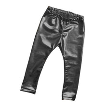 Load image into Gallery viewer, Baby Girl Faux Leather Leggings