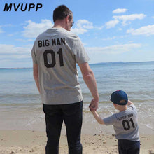 Load image into Gallery viewer, Daddy & Me Big and Lil Man T-Shirts