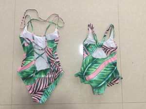 Mommy & Me Tropical Swimsuits