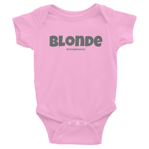 Blonde Infant Bodysuit