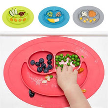 Load image into Gallery viewer, Silicone Food Mat/Plate for Children