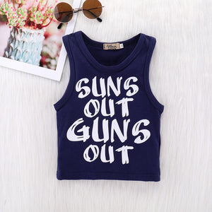 Baby Boys Suns Out Guns Out Tank