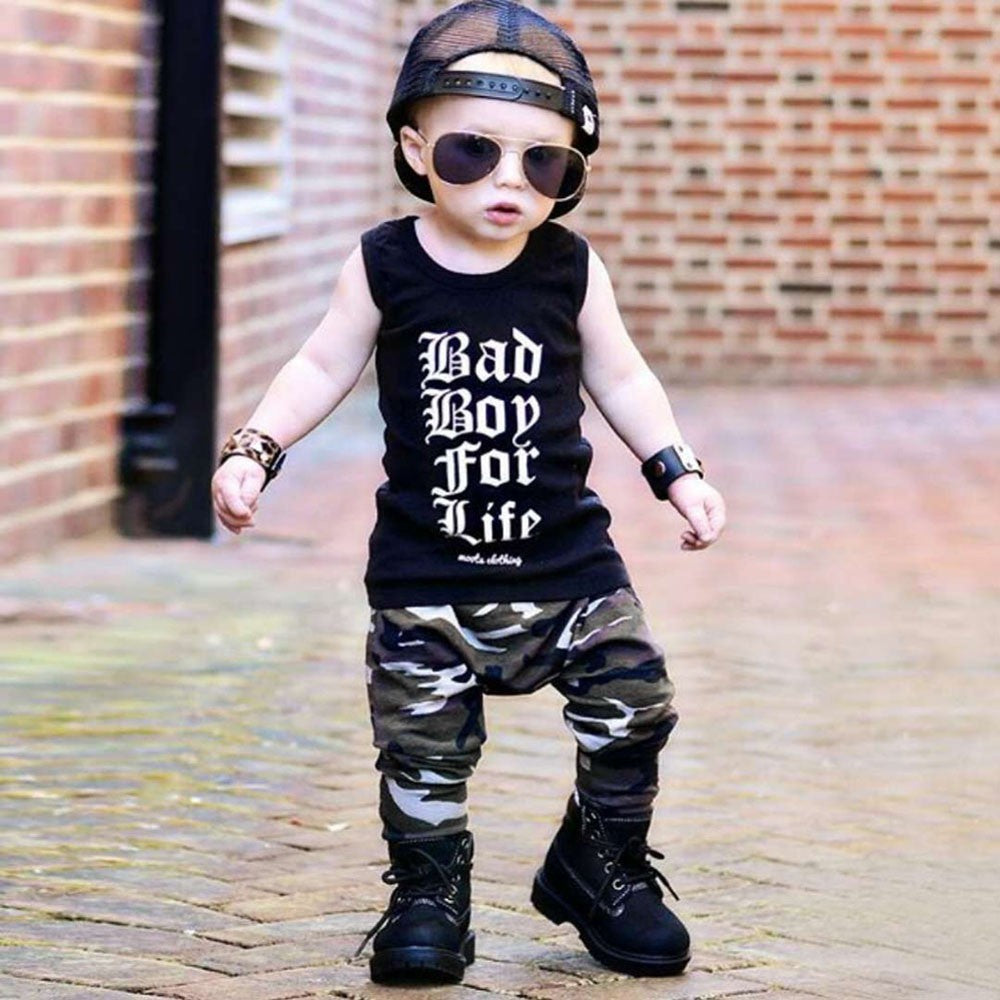 Baby and Toddler Boys Bad Boy For Life Set