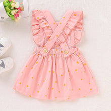 Load image into Gallery viewer, Infant and Toddler Pretty in Pink Ruffled Dress